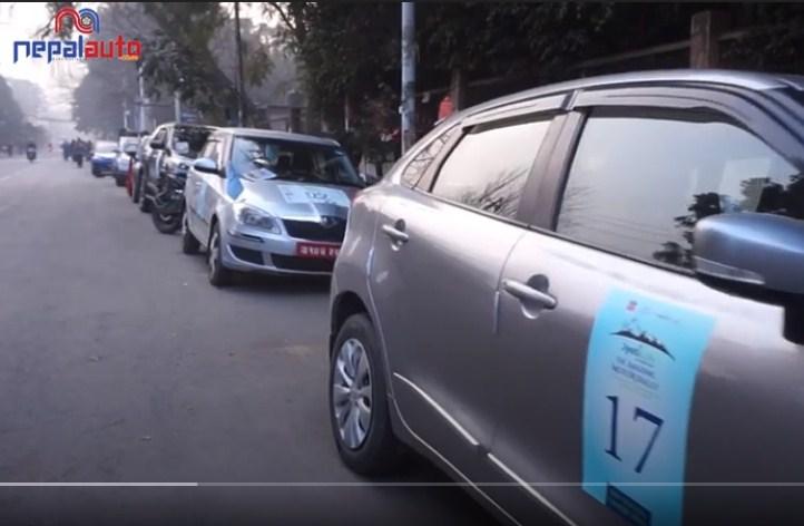 काठमाडौंबाट चितवन र पोखरा सम्म द अमेजिङ मोटर र्याली