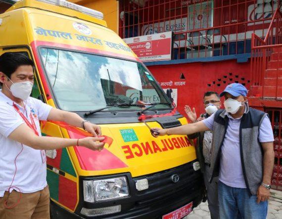 नेपाल चिकित्सक संघको एम्बुलेन्स सेवा प्रारम्भ, यसरी लिन सकिन्छ सेवा