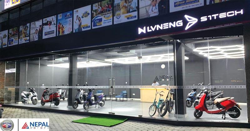 नक्सालमा खुल्यो ईभी नेपाल मोटर्सको सोरुम, इलेक्ट्रिक स्कुटर र साइकल उपलब्ध