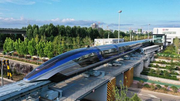 चीनले बनायो विश्वको सबैभन्दा तीव्र गतिको ट्रेन, ६०० किलोमिटर प्रति घन्टा स्पिड