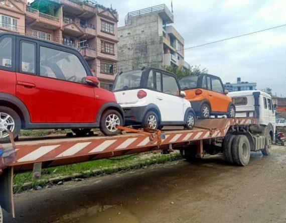 इलेक्ट्रिक बहार : फरक लुकमा उपलब्ध अर्बन मोबिलिटी स्मार्ट कार सिटी स्पिरिट भित्रियो नेपालमा